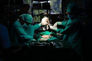 Caesarean section surgery